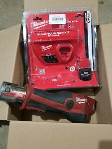 Milwaukee M12 Force Logic Press Tool with with new battery and charger pro press