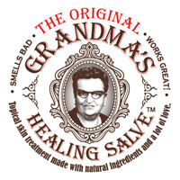 Grandmas Healing Salve 2oz - Black Drawing Ointment