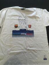 Arsenal Vs Barcelona Champions League 2006 Paris Final T-Shirt (2246)