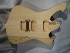 Replacement Unfinished RG Jem Guitar Body - Fireman - Fits Ibanez (tm) RG Necks