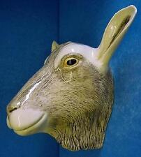 QUAIL BRITISH TOGGENBURG GOAT HEAD WALL POCKET OR VASE FARM ANIMAL FIGURE MODEL