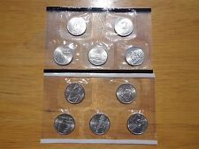 2005 State Quarters P & D Uncirculated Set Sealed Mint Cello 10 Coin