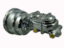 Holden HQ HJ HX HZ Chrome Brake Booster 8inch, includes Chrome Master Cylinder