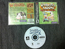 Harvest Moon: Back to Nature  (Sony PlayStation 1, 2000)COMPLETE