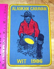 Alaskan Caravan WIT 1986 Large embroidered patch