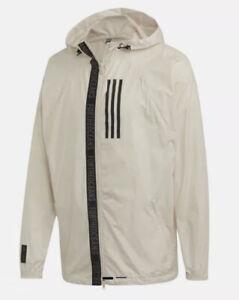 Adidas W.N.D. Parley Full Zip Running Jacket Windbreaker DX9290 Men's L NWT