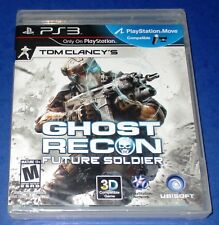 Tom Clancy's Ghost Recon: Future Soldier PS3 *Black Label! *New *Free Shipping!