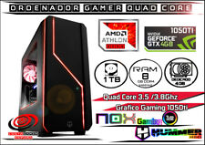 Ordenador Gamer AMD  7ma Gen x4 3.8Ghz 8Gb Ram DDR4  1TB Disco GTX 1050ti 4GB