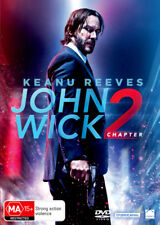 John Wick Chapter 2 - Keanu Reeves DVD R4 New!
