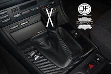FITS BMW E30 E36 E46 M3 Z3 E34 GENIULE BLACK QUALITY LEATHER GEAR BOOT