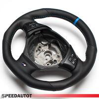 Aplati Volant en Cuir M Volant Avec Multifunkton BMW E90 E91 E81 E87 E84
