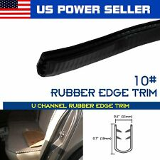 50ft #10 Car Camper Van SUV Door Window Hood Edge Trim Seal Str​ip Black 600""