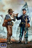 Master Box 35198 - 1/35 -Brothers Meet Again. End of the War – Confederate army