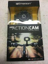 Emerson Go Action Cam 720p HD Digital Video Camera Pro Grade 5 mp Video Screen