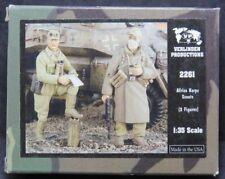 Verlinden German Afrika Korps Scouts WWII DAK (2 Figures) 1/35 2261