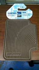 NOS FORD Escape Rear OEM 3L8Z-1613106-CA All Weather Rubber Floor Mats