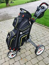 Motocaddie Golf Bag and Cube trolley