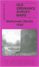 OLD ORDNANCE SURVEY MAP MOTHERWELL NORTH 1939