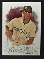 2016 Topps Allen and Ginter #242 DJ LeMahieu - NM-MT