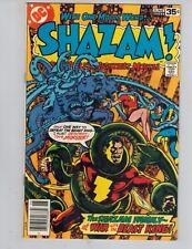 SHAZAM! 35 Captain Marvel vs King Kull!  SABBAC! 1978 VF LAST ISSUE!