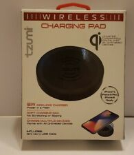 Tzumi WIRELESS CHARGING PAD / CHARGER All Qi Devices iPhone Samsung & Android