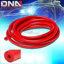 "3MM/0.12""ID RED FULL SILICONE FUEL/AIR VACUUM HOSE/LINE/PIPE/TUBE BY FOOT/FEET"
