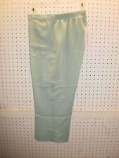 ALFRED DUNNER Misses 8 Mint Savannah Pull-On Cargo Capri Pant FREE Shpg NWTA