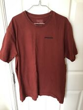 Patagonia Orange Mens T-Shirt - Size Large