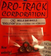 Pro-Track #208K Gold Weelie Bar Wheels Evolution from Mid-America Naperville