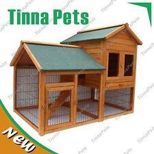 NEW STOCK  150*98*120CM Rabbit Guinea Pig Ferret Coop House Hutch Run Cage P015