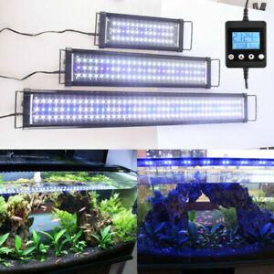 Aquarium Fish Tank LED Light Over-Head Lamp Marineland Plants Moon lighting