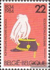 Bélgica 2186 (compl.edición) nuevo con goma original 1984 150 años Escuela Milit
