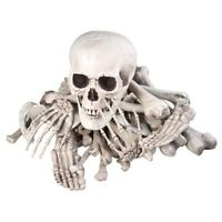 Bag of Skeleton Bones Skull 28pcs Set Prop Halloween Decoration Haunted House
