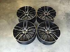 "19"" 405M M Sport Style Wheels Gloss Black Machined BMW E90 E92 F10 F30 5x120 F32"