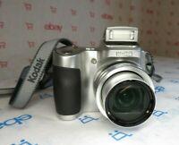 Kodak EasyShare Z650 6.1 MP HD Bridge Digital Camera 10x Optical Zoom Lens