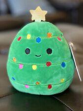 "Kellytoy Squishmallow 2020 Christmas Carol the Xmas Tree 5"" Mini Plush Doll"
