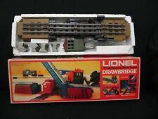 """Lionel  6-2317 """" O """" Scale Operating Remote Control Drawbridge"""