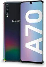 Samsung Galaxy A70 DS 128Go Noir état correct Reconditionné A.A350