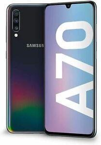 Samsung Galaxy A70 DS 128Go Noir Grade A/B Reconditionné A.A350