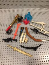Vintage Action Figure Accessory/Weapon Lot~The Shadow~Battle Trolls~Dick Tracy