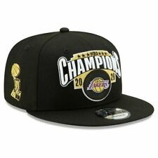LOS ANGELES LAKERS NEW ERA 2020 NBA FINALS WORLD CHAMPION LOCKER ROOM HAT CAP