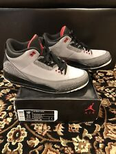 Nike Air Retro Jordan 3 Stealth size 10.5 Grey Pre Owned