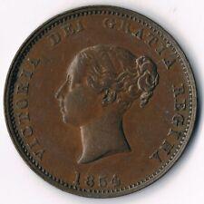 New Brunswick 1//2D  1854; NB-1B - High Grade