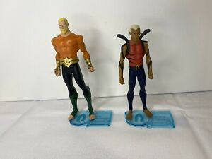 "DC Universe 3.75"" Young Justice AQUAMAN & AQUALAD 2-Pack Heroes of the Deep Lot"