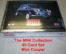 The MINI Collection TRADING CARDS  SET  Mini Cooper  45 card set