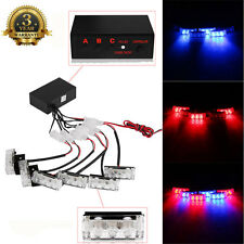 Car 18LED Strobe Light Bar Police Fireman Emergency Hazard Flasher Signal Lamps