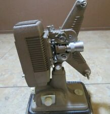 VTG Reel Projector Revere Camera Co Chicago 8MM P-90 Model 105-120 V + Case