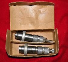 Vintage HERTERS Reloading Dies Full Length 30-06  Original Box W/Metal Corners