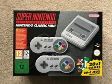 BRAND NEW NINTENDO SNES MINI CONSOLE WITH 2 CONTROLLERS, next day delivery!!