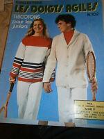 Revue tricot Laine : tricotons pour les juniors n° 102